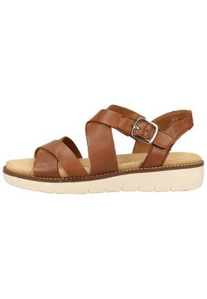 REMONTE SANDALEN - Sandals - brown
