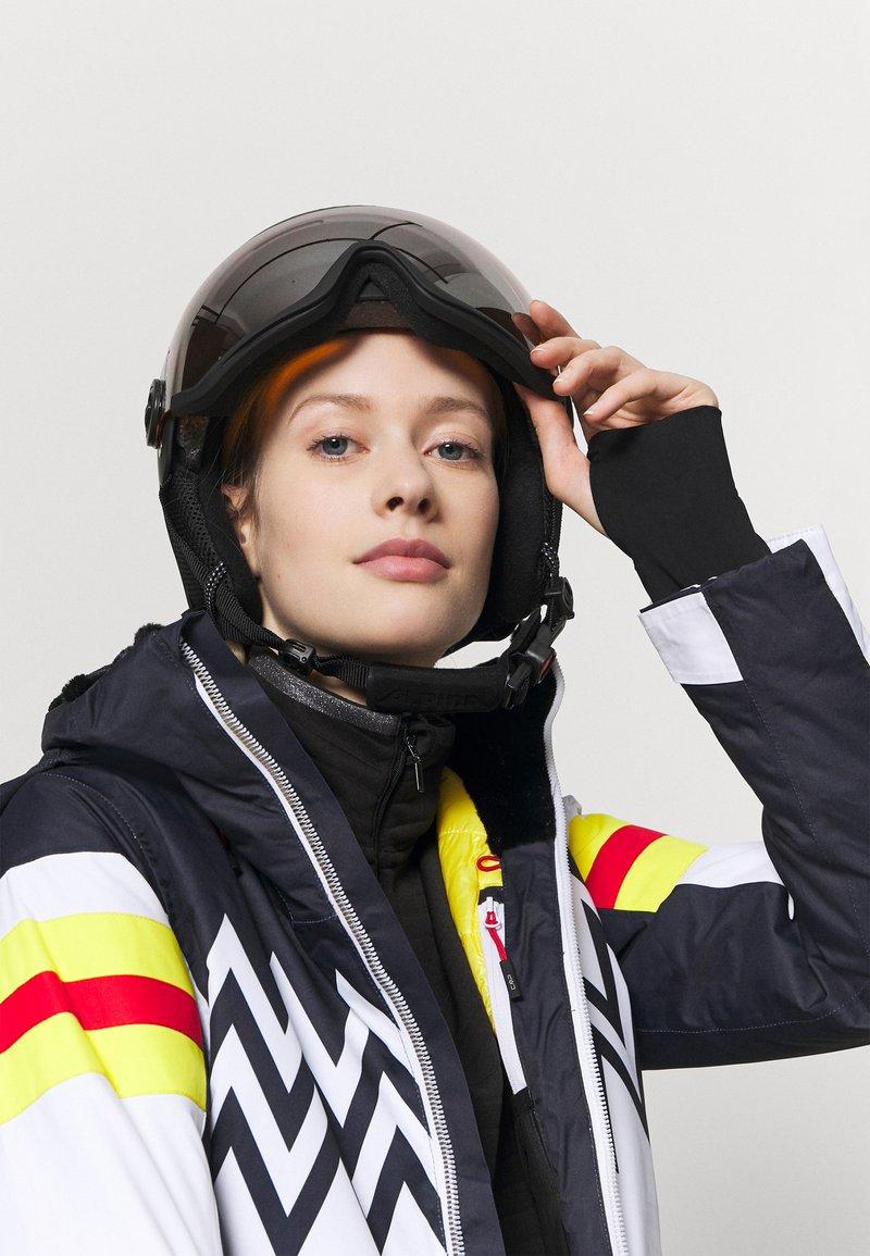 Alpina - ARBER VISOR UNISEX - Helmet - black matt