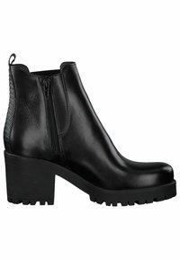 Tamaris - CHELSEA - Ankle boots - black/struct. - 4
