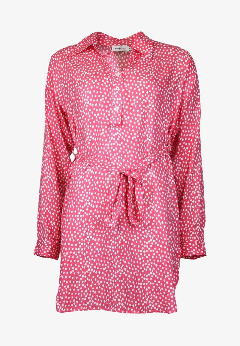 Zwillingsherz - Shirt dress - pink