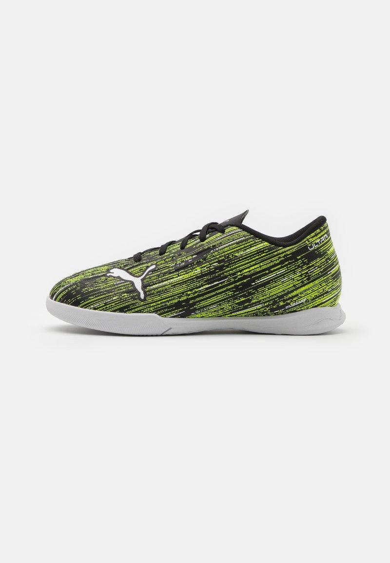 Puma - ULTRA 4.2 IT JR UNISEX - Indoor football boots - black/white/yellow alert