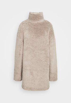 TURTLENECK DRESS - Day dress - beige