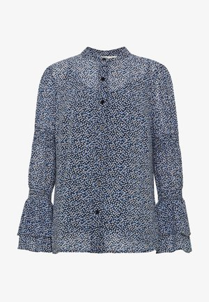 Blouse - black/ vintage blue