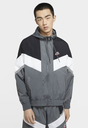 Windbreaker - iron grey/black/white