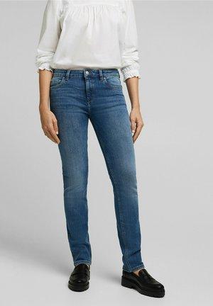 Straight leg -farkut - blue medium washed