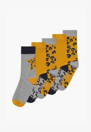 ONLINE JUNIOR 5 PACK - Socks - golden yellow