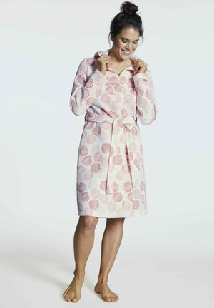 Dressing gown - papaya print
