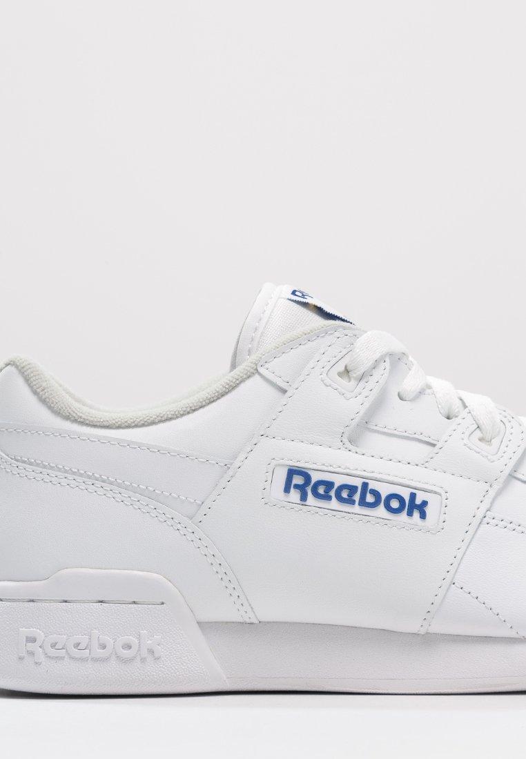 Inconveniencia Taxi Indulgente  Reebok Classic WORKOUT PLUS - Sneaker low - white/royal/weiß - Zalando.de