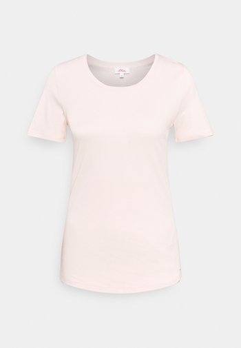 KURZARM - Basic T-shirt - light blush