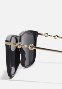 Gucci - UNISEX - Sunglasses - black/gold-coloured/grey - 2