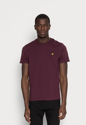 CREW NECK  - T-shirt basic - burgundy