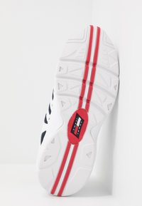 Tommy Jeans - HERITAGE RETRO - Trainers - white/dark blue - 4