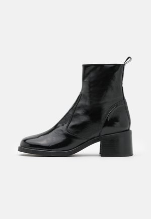 VEGAN VIOLA ROUND TOE BOOT - Nilkkurit - black