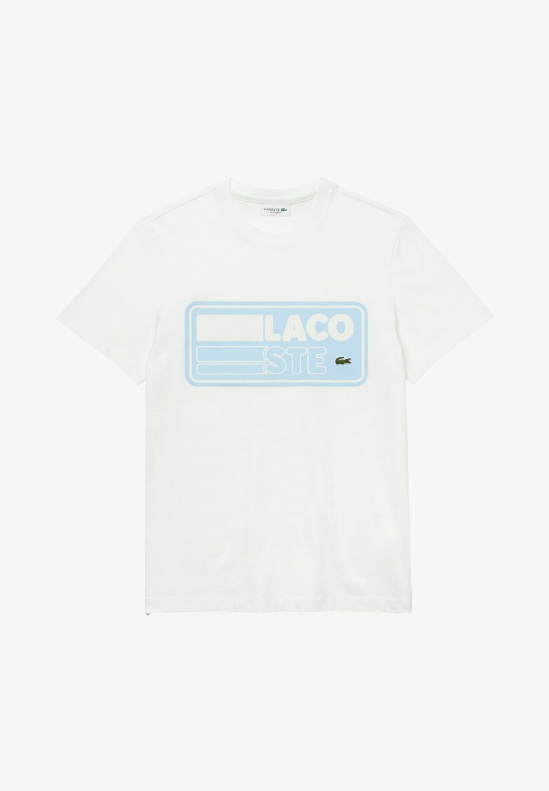 Lacoste - T-shirt imprimé - weiß