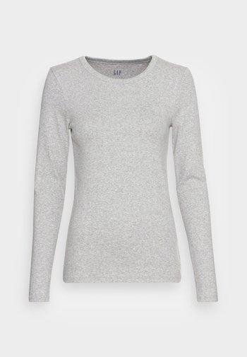 CREW - Topper langermet - heather grey