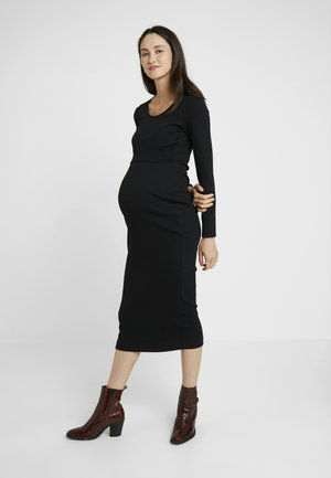SIGNE DRESS - Vestido largo - black