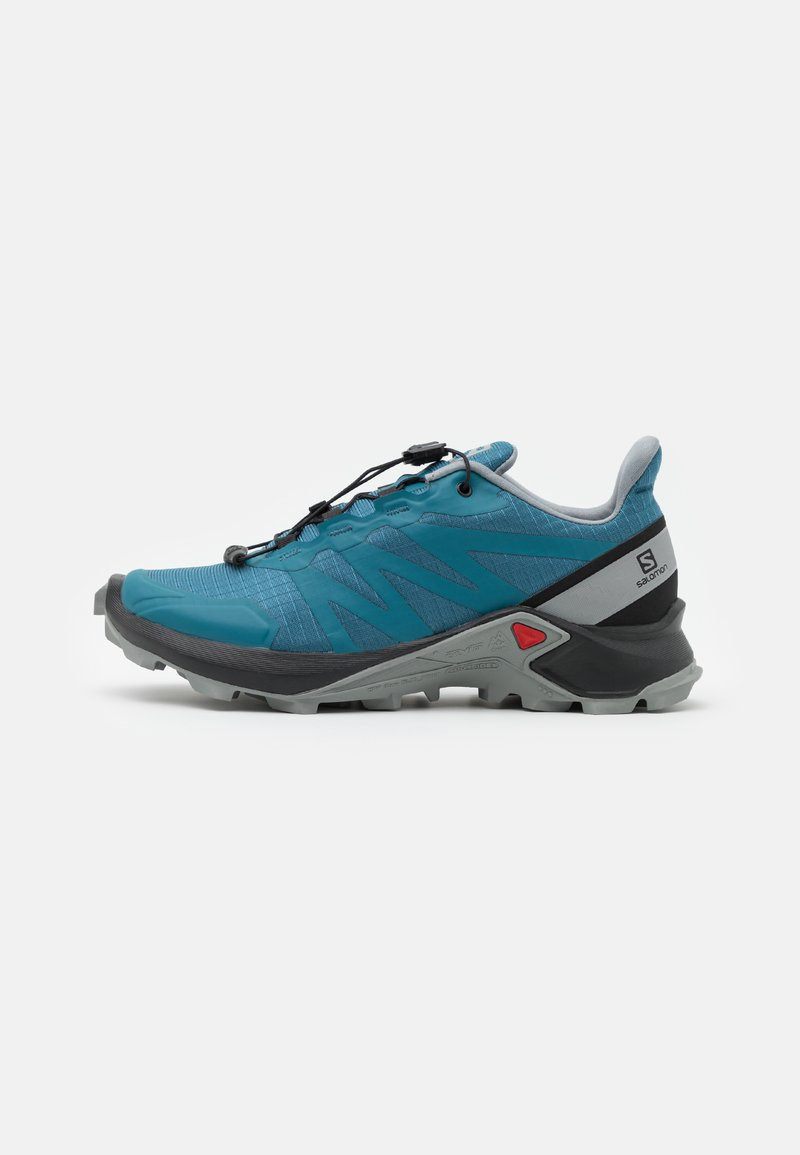Salomon - SHOES SUPERCROSS  - Hikingsko - mallard blue/black/monument
