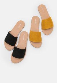 Anna Field - 2 PACK - Sandaler - black/yellow - 5