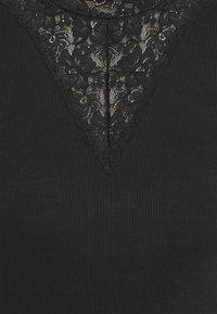 Rosemunde - Triko spotiskem - black - 2