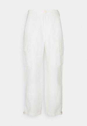 Trousers - antique cream
