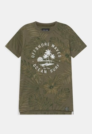 KIDS LEANY - Print T-shirt - army