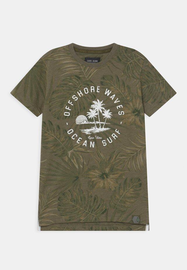 KIDS LEANY - Print T-shirt - army
