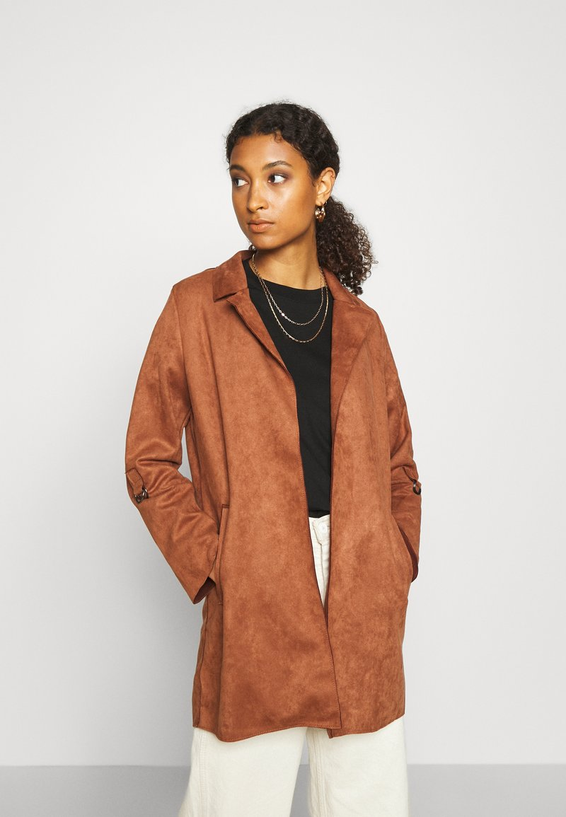 ONLY - Short coat - tortoise shell