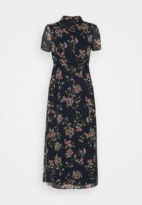 Vero Moda Petite - VMKAY ANKLE SHIRT DRESS PETITE - Długa sukienka - navy blazer - 0