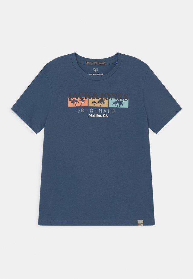 JORCABANA CREW NECK  - T-shirt imprimé - ensign blue