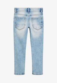Next - DENIM GREY SKINNY FIT FIVE POCKET JEANS (3-16YRS) - Jeans Skinny Fit - blue - 1