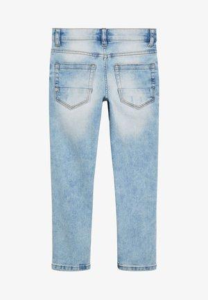 DENIM GREY SKINNY FIT FIVE POCKET JEANS (3-16YRS) - Skinny džíny - blue