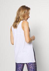 Cotton On Body - LONGLINE SPLIT HEM TANK - Toppi - white - 2
