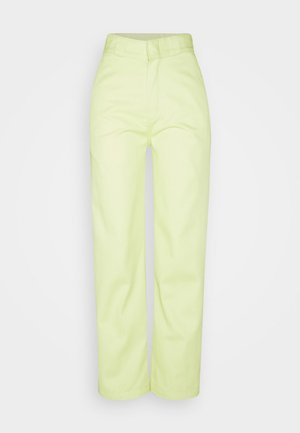 ELIZAVILLE - Trousers - mellow green