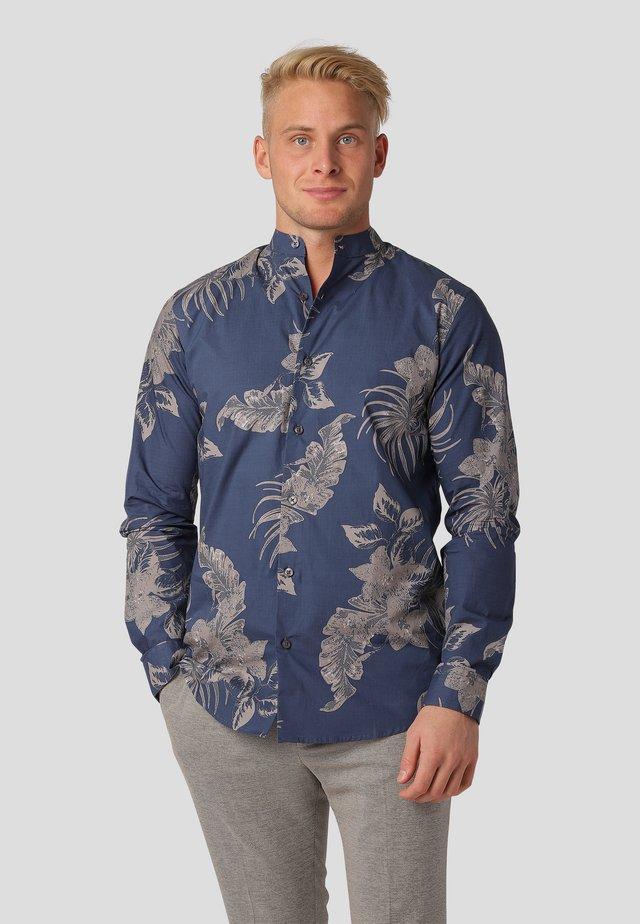 BARI LS - Shirt - ocean blue