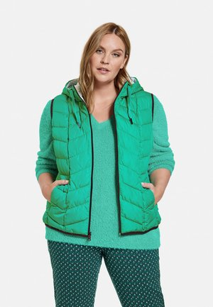 LANG WENDE   - Waistcoat - electric green