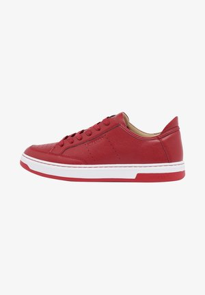 Sneakers laag - risk red
