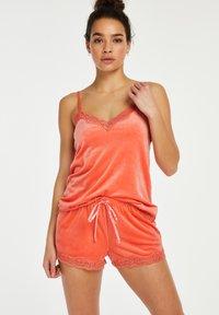 Hunkemöller - Pyjama top - orange - 0