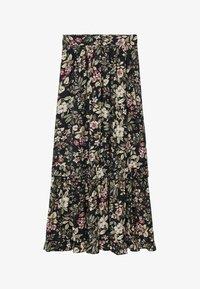 Mango - Pleated skirt - black - 5