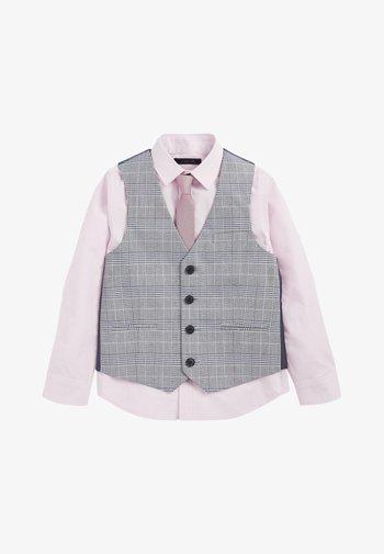 SET - Suit waistcoat - grey