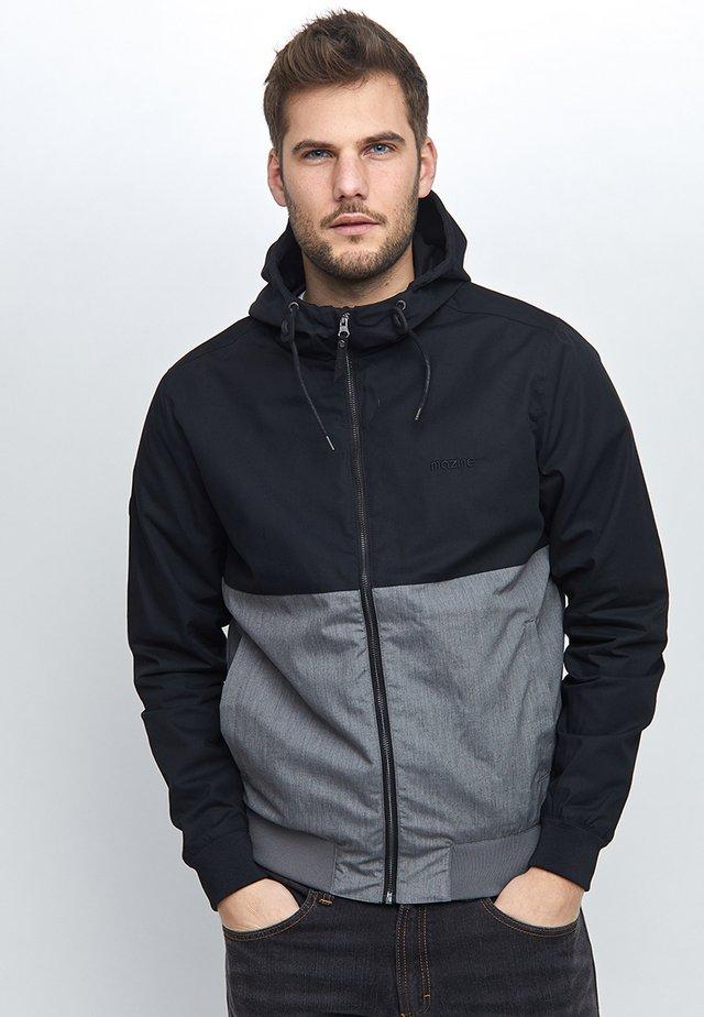 CAMPUS CLASSIC - Korte jassen - black/grey melange