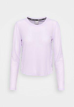 TRAIN LONG SLEEVE - Bluzka z długim rękawem - light lavender