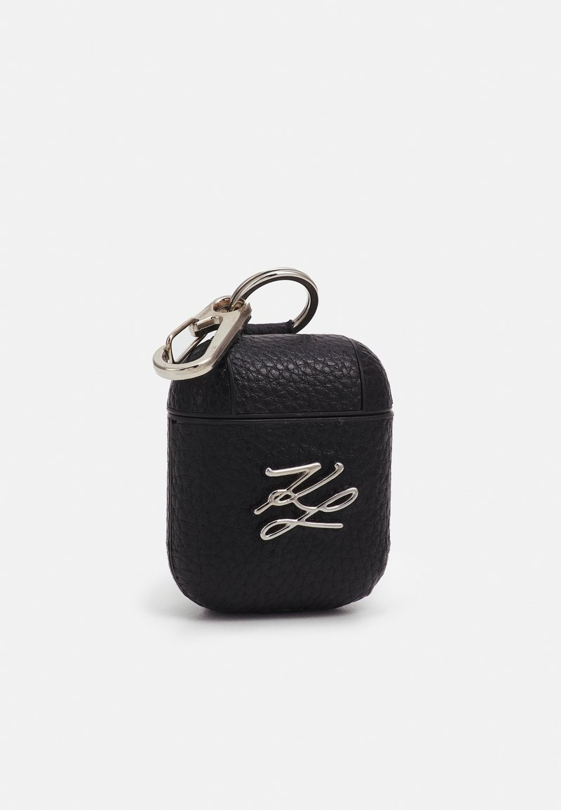 KARL LAGERFELD - AUTOGRAPH AIRPOD CASE - Other - black