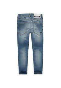 RAIZZED - Straight leg jeans - mid blue stone - 2