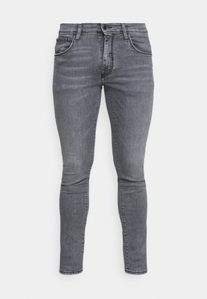Slim fit jeans - grey steel