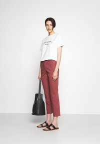 WEEKEND MaxMara - LATO - Pantalon classique - bordeaux - 1