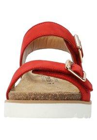 Mobils Ergonomic - Walking sandals - scarlet - 7