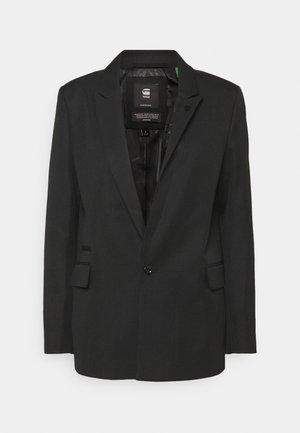 CLASSIC BF BLAZER WMN - Blazere - dark black