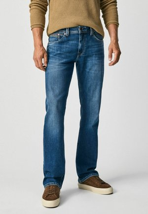 NEW JEANIUS - Jeans a sigaretta - denim