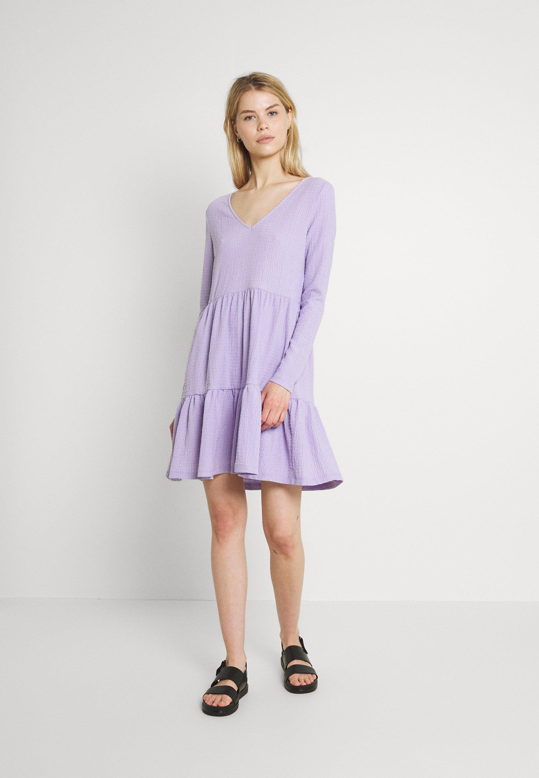 Women VIHAGEN V-NECK SHORT DRESS - Day dress