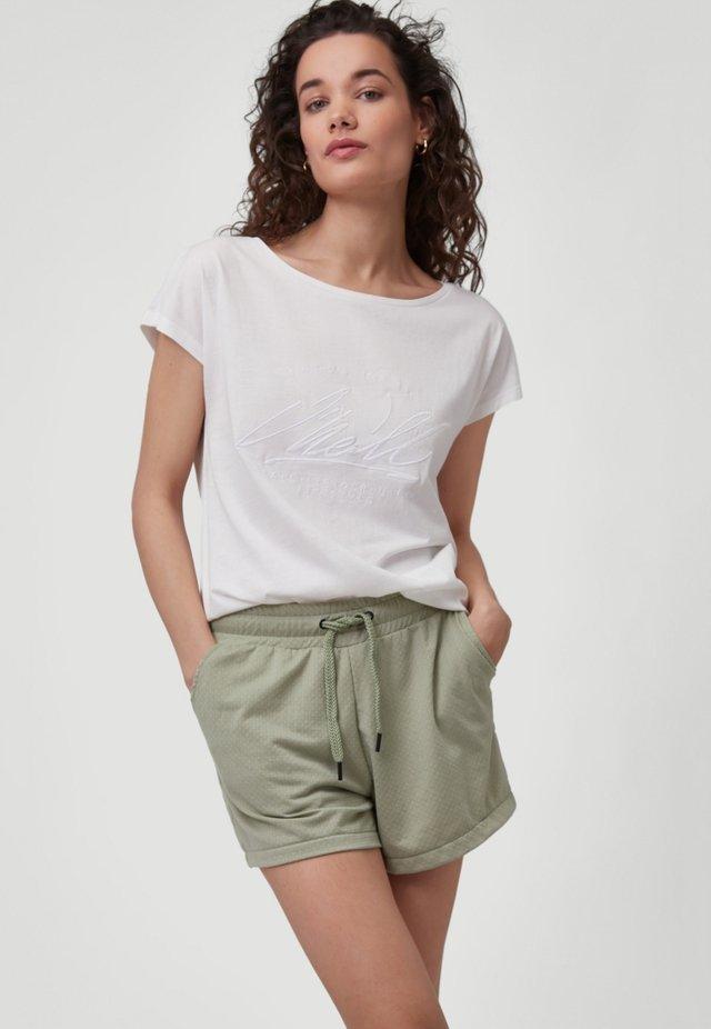 ESSENTIAL GRAPHIC  - T-shirt print - powder white